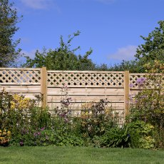 6ft High (1800mm) Grange Elite St Malo Pressure Treated Fencing Packs