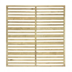 4ft (1200mm) High Grange Urban Garden Screen Fencing Packs - Pressure Treated