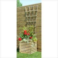 Grange Square Contemporary Planter - Pressure Treated