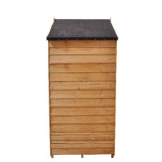 5 x 3 (1.62 x 0.94m) Forest Overlap Apex Garden Shed- No Windows