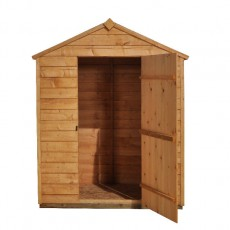Forest Garden 5 x 3 (1.62 x 0.94m) Forest Overlap Apex Garden Shed - No Windows