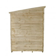 5 x 7 (1.41 x 2.04m) Forest Overlap Pressure Treated Pent Shed