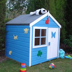 4 x 4 Shire Playhut Playhouse - Snoopy snoozing