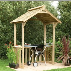 Forest Garden BBQ Shelter Pressure Treated
