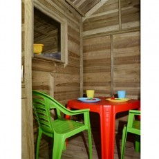 8 x 4 (2.4m x 1.2m) Forest Basil Duo Playhouse Pressure Treated