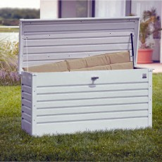 4'0' x 2'0' (1.25 x 0.53m) Biohort Leisure Time 130 Storage Box - Dark Grey