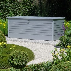6'0' x 2'.5' (1.72 x 0.72m) Biohort Leisure Time 180 Storage Box - Dark Grey