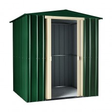 6 x 4 Lotus Apex Metal Shed (Heritage Green)