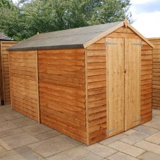 Mercia 10 x 6 (3.12m x 1.79m) Mercia Overlap Shed - No Windows