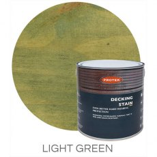 Protek Decking Stain 2.5 Litres - Light Green