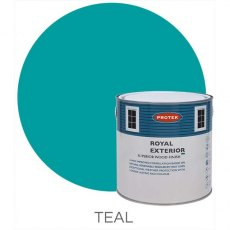 Protek Royal Exterior Paint 5 Litres - Teal
