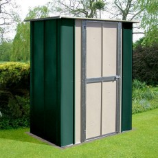 5 x 3 (1.41m x 0.82m) Canberra Utility Metal Shed (Green)