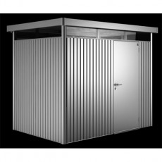9 x 6 (2.75m x 1.95m) Biohort Highline H2 Metal Shed Single Door