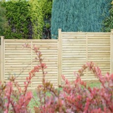 4ft High (1200mm) Grange Contemporary Vogue Panel - Pressure Treated