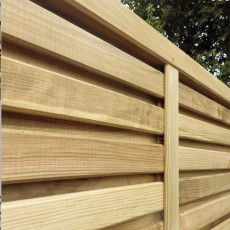 4ft High Grange Contemporary Vogue Panel - Pressure Treated