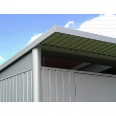 "8'6"" x 7' (1.77m x 2.20m) Biohort AvantGarde Metal Pent Shed Single Door"