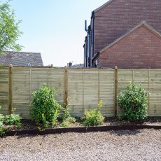 6ft High (1800mm) Grange Ultimate Lap Fencing Packs - Pressure Treated