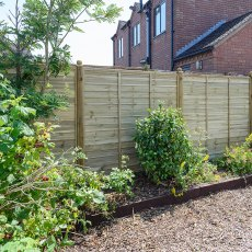 4ft High Grange Ultimate Lap Fencing Packs - Pressure Treated