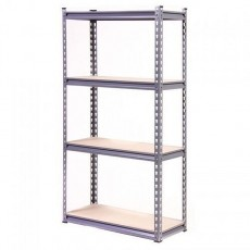 4ft High Globel Heavy Duty 4 Tier Shelving 100