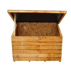 Forest 4 x  3 (1.30 x 0.89m) Forest Overlap Tool Chest with Easy Fit Roof