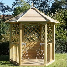 2.3m x 2.0m  Mercia Oxford Gazebo - Pressure Treated