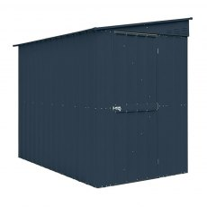 15 Year Limited Manufacturer's Warranty for 5 x 8 Lotus Lean-To Metal Shed in Anthracite Grey