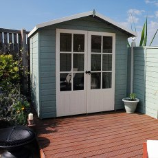 7 x 5 (2.05m x 1.55m) Shire Lumley Summerhouse