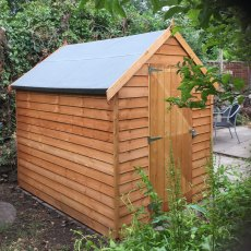 8 x 6 (2.44m x 1.86m) Shire Value Overlap Windowless Shed with Single Door