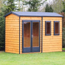 10 x 10 (3.02m x 3.15m) Shire Garden Studio Summerhouse