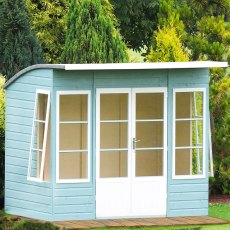 10 x 6 (2.99m x 1.79m) Shire Orchid Summerhouse