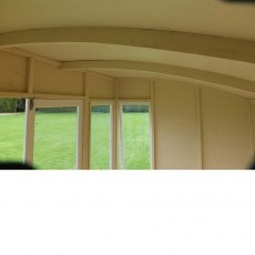 10 x 6 Shire Orchid Summerhouse - Internal view