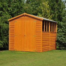 Shire 10 x 10 Overlap Workshop Shed