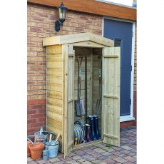 3 x 2 Forest Apex Tall Garden Store - Pressure Treated