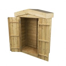 Forest 3 x 2 (0.99m x 0.47m) Forest Shiplap Apex Garden Store - Pressure Treated