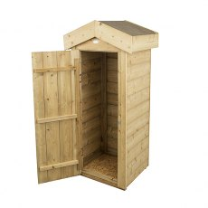 Forest Garden 2 x 2 (0.54m x 0.47m) Forest Shiplap Small Garden Store - Pressure Treated