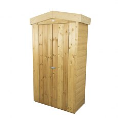 Forest 3 x 2 (0.99m x 0.48m) Forest Shiplap Apex Tall Garden Store - Pressure Treated