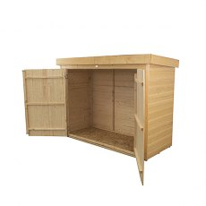 Forest Garden 6 x 3 (1.86m x 0.78m) Forest Shiplap Pent Large Outdoor Store - Pressure Treated