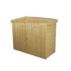 Forest Garden 6 x 3 (1.86m x 0.78m) Forest Shiplap Apex Large Outdoor Store - Pressure Treated
