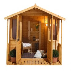 7 x 7 Forest Maplehurst Shiplap Summerhouse