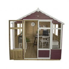 7 x 7 (2.07m x 2.07m) Forest Oakley Summerhouse - Pressure Treated