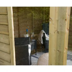 Forest 8 x 6 (2.46m x 1.91m) Forest Oakley Summerhouse - Pressure Treated