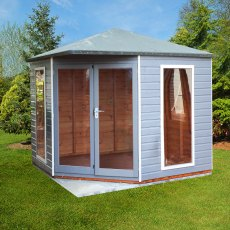 8 x 8 Shire Larkspur Corner Summerhouse