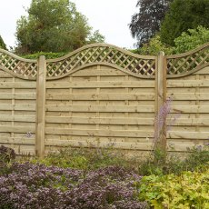 5ft High (1500mm) Forest Europa Prague Fence Panels - Pressure Treated