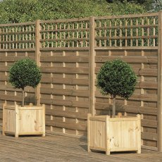 6ft High (1800mm) Forest Europa Montreal Fence Panels - Pressure Treated
