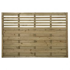 4ft High (1200mm) Forest Europa Kyoto Fence Panels - Pressure Treated