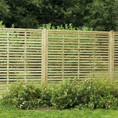 6ft High (1800mm) Forest Europa Kyoto Fence Screen - Pressure Treated