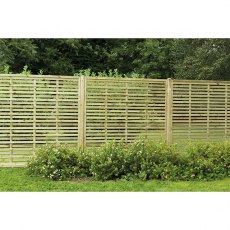 Run of 6ft High Forest Europa Kyoto Fence Screen