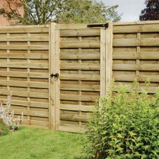 6ft High (1800mm) Forest Europa Plain Gate - Pressure Treated