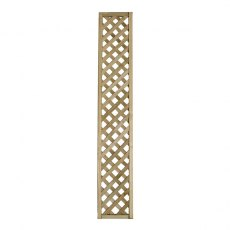 1ft High (300mm) Forest Rosemore Lattice Trellis - Pressure Treated