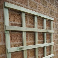 2ft High (600mm) Forest Traditional Trellis - Detail